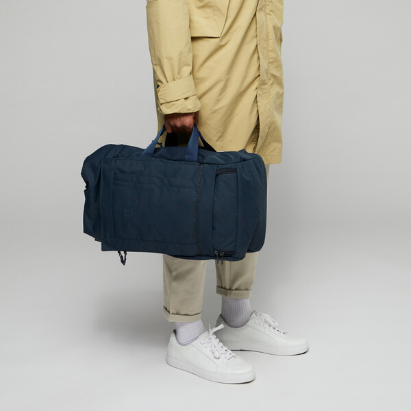 pinqponq Backpack BLOK medium Slate Blue