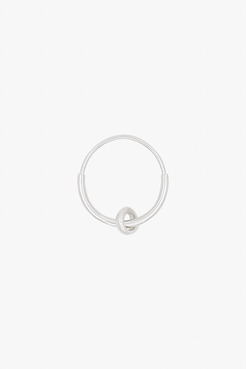 wildthings collectables Double hoop earring silver