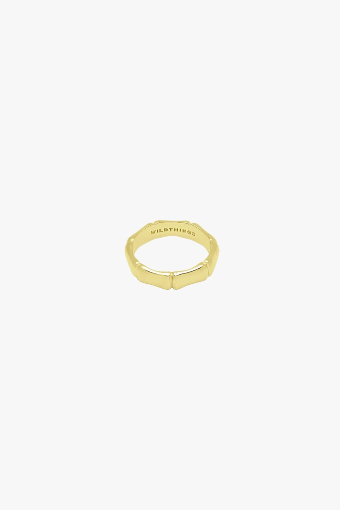 wildthings collectables - Bamboo ring gold