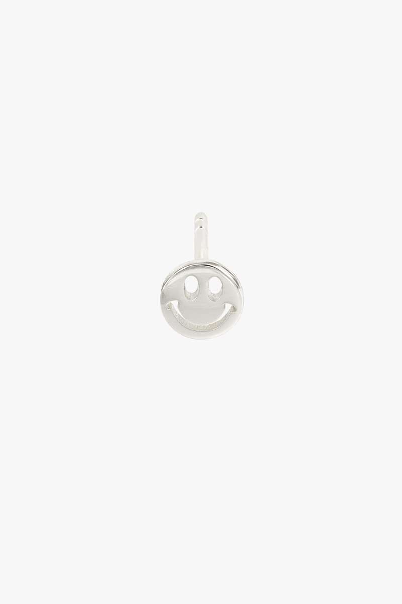 wildthings collectables - Smiley stud silver
