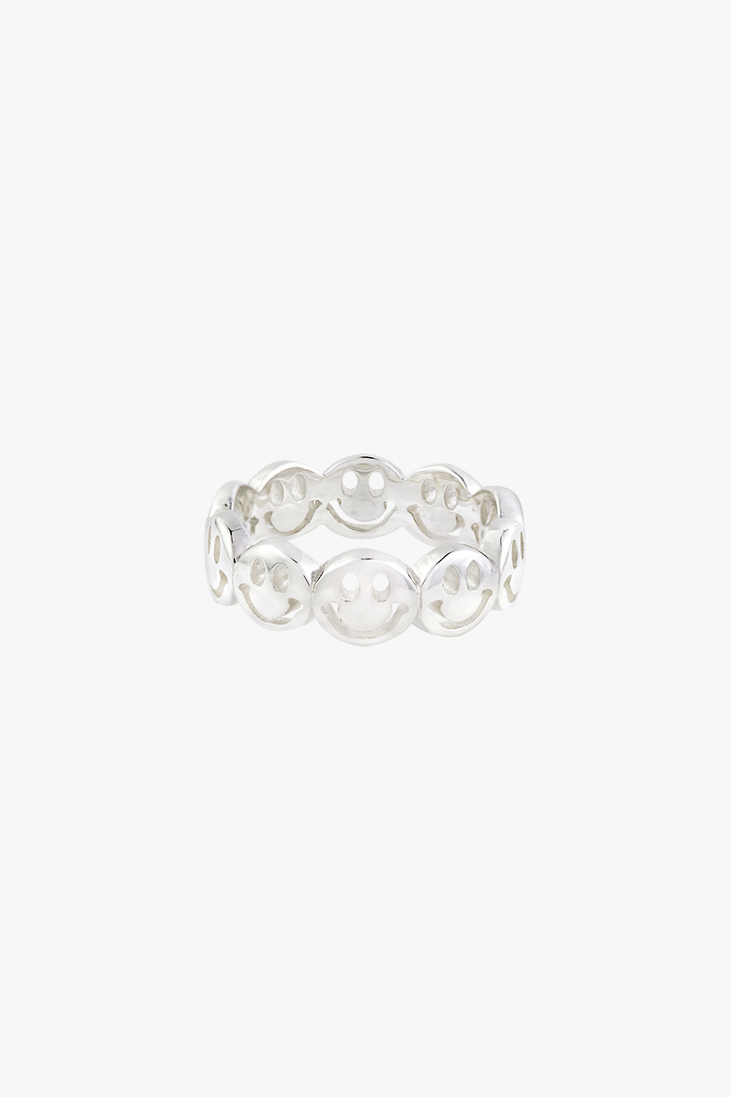 wildthings collectables - Smiley Ring Silver