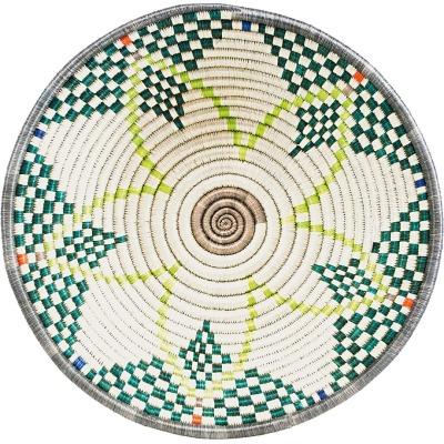 Liv interior Gras-Korb HOPE aqua/lime sustainable