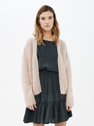 stine cardigan - blush - by-bar