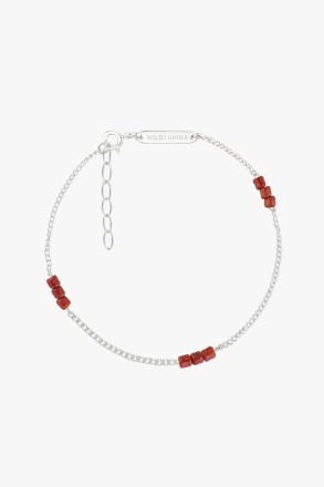 wildthings collectables Triple red beads bracelet