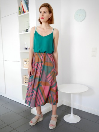 JUL SKIRT V201 - 100 Viskose