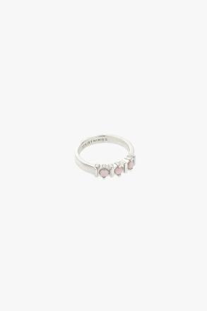 Vintage pink cloud ring silver wildthings