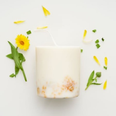 Sojawachs Duftkerze - Ringelblume - Munio