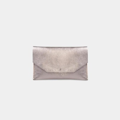 Mia Envelope Metallic Silver by ann