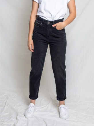 NORA LOOSE TAPERED VINTAGE BLACK von