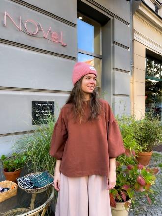 BEAUMONT ORGANIC Amelia Organic Cotton Top