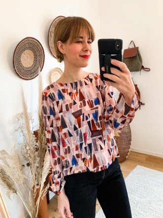 MIO ANIMO TET BLOUSE Mosaik Fair