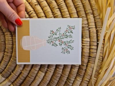 Postkarte - Blumenstrauß