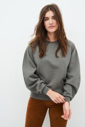 KUYICHI Tessa Balloon Sweater Cottage Green