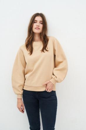 KUYICHI Tessa Balloon Sweater Sand 100