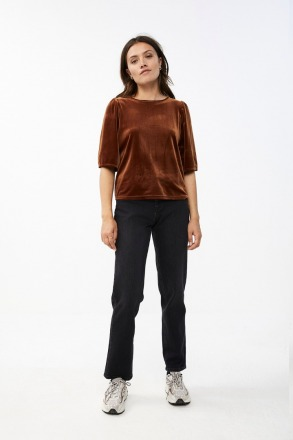 bibi velvet top - by-bar
