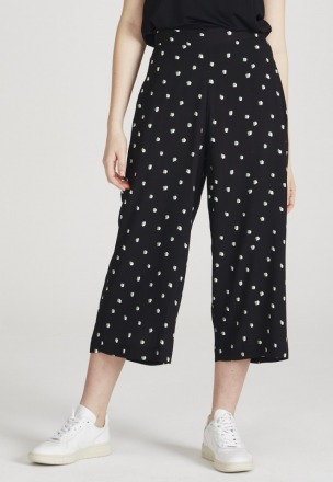 Givn Anna Trousers Black/Mint/Off White Givn
