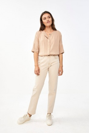 by-bar minde blouse - nude -