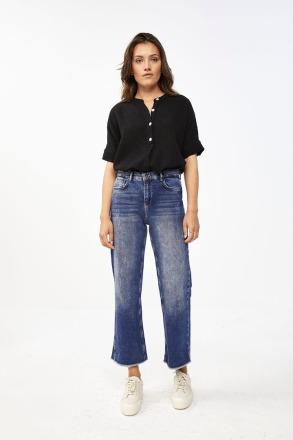 by-bar nanci blouse jet black by-bar