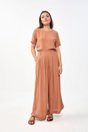 Silke blouse - copper - by-bar