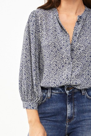 by-bar rikki botanic blouse - by-bar