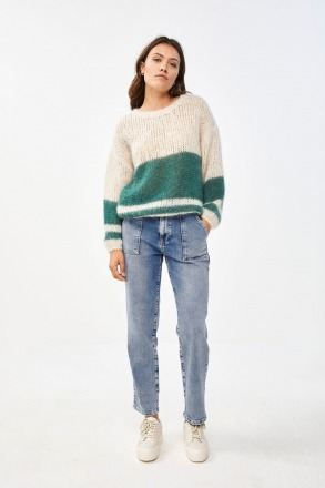 by-bar evi astro pullover botanic by-bar