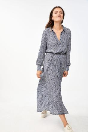 yara botanic dress - blue -