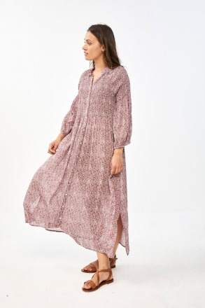 by-bar loulou potterie dress bright plum