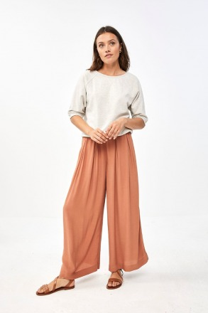by-bar wanda crepe pant copper by-bar