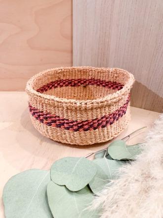 Bread Basket F34 Pink Dunkelviolette FAIR