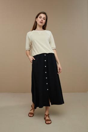 by-bar nine skirt black by-bar amsterdam