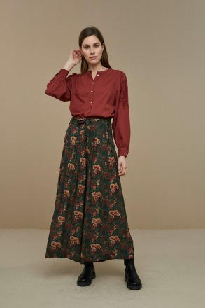 by-bar ivy blouse sienna red by-bar