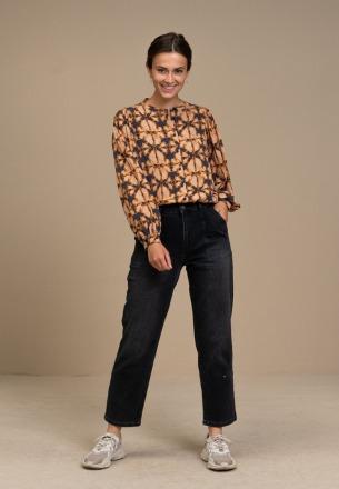 by-bar rikki batik blouse batik print