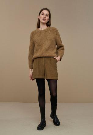 by-bar milan pullover dry khaki by-bar