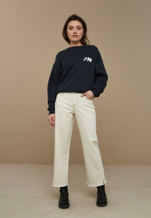 by-bar roxy sweater jet black by-bar