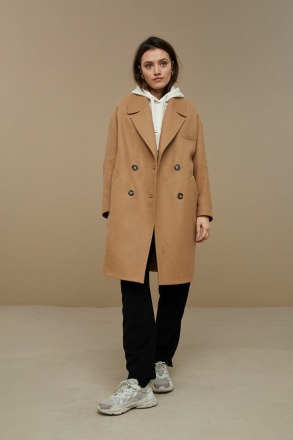 by-bar florence coat camel by-bar amsterdam