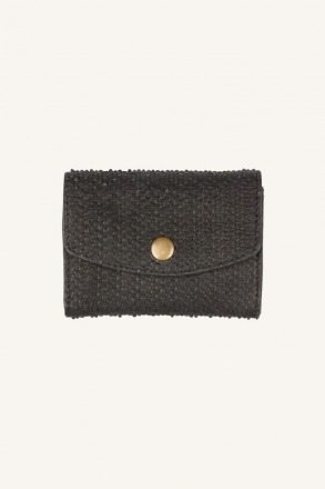 by-bar julie relief wallet black by-bar