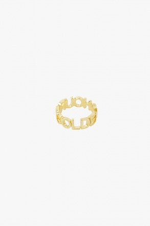 Golden hour ring gold wildthings collectables