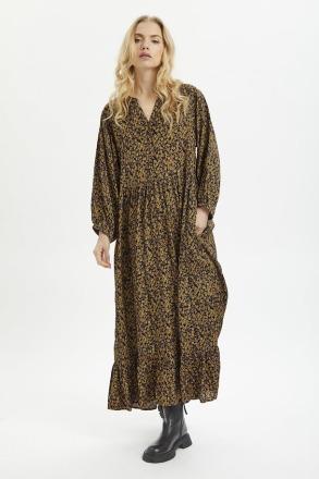 KAFFE KAnille Dress Black Brown modern