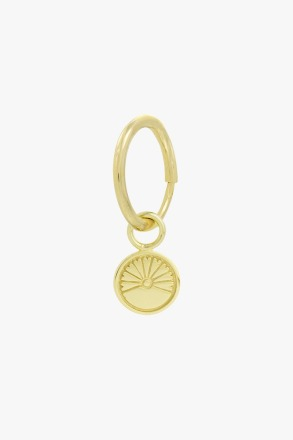 wildthings collectables Voyage coin earring gold