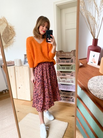 MIO ANIMO JULO SKIRT Leo Flower