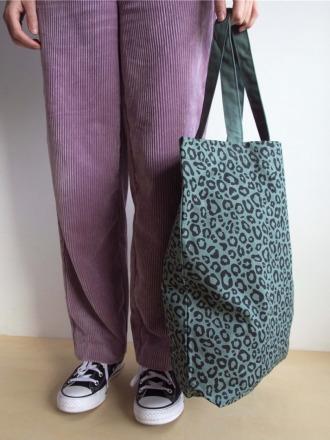 LEO BAG Green - aus Baumwolle