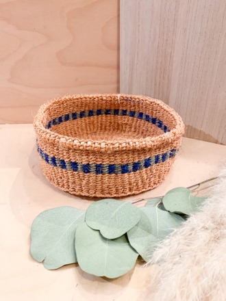 Bread Basket F26 Blau FAIR TRADE