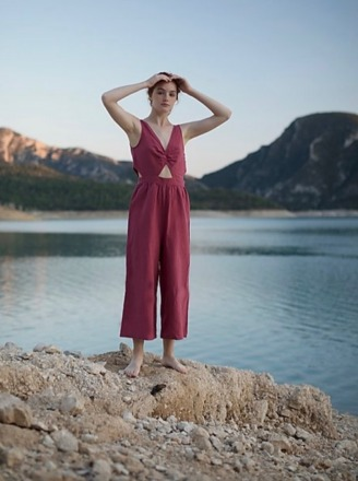 Clo Stories LOUISE jumpsuit Made and