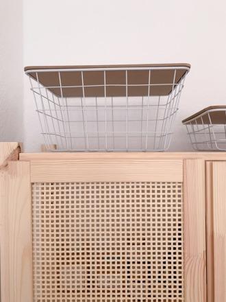 Basket groß Metallinen weiß Luhta Home