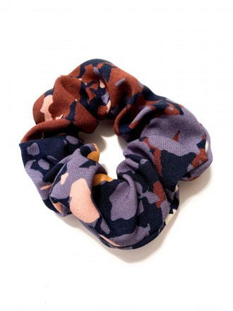 MIO ANIMO Scrunchie Blue Autumn MIO