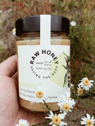 Raw Honey Ingwer RAW HONEY Saving