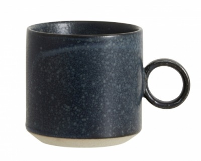 NORDAL GRAINY cup handle dark blue
