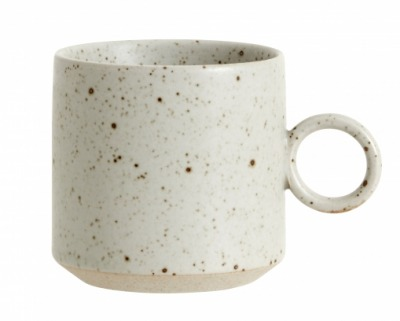 NORDAL GRAINY cup handle sand NORDAL
