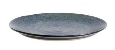NORDAL GRAINY saucer/cake plate dark blue
