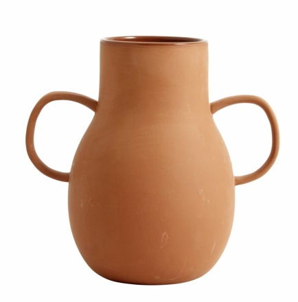 NORDAL PROMISE clay vase small handles